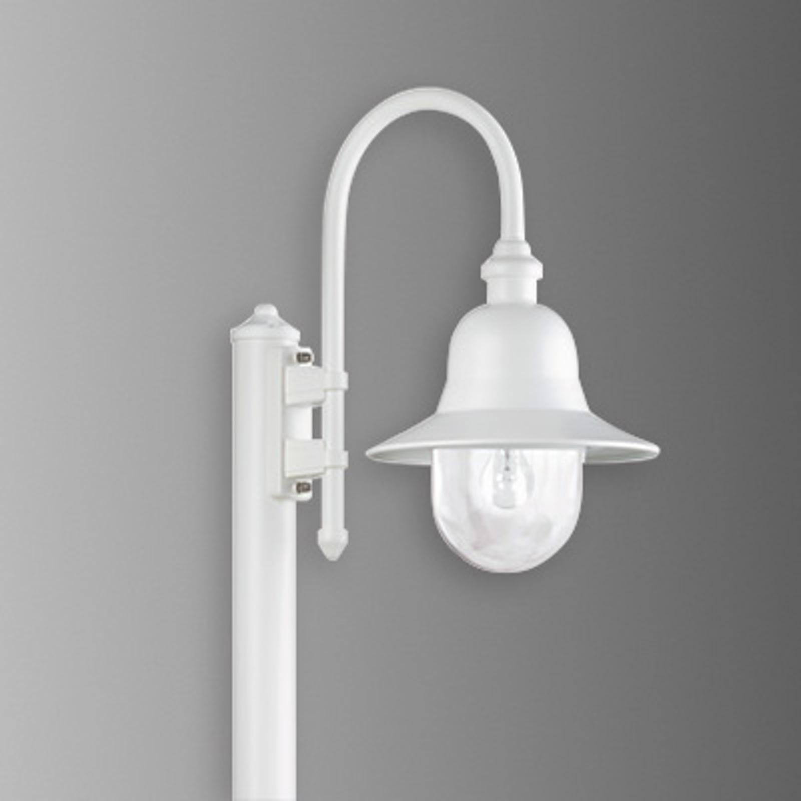 Słupek oświetleniowy Nios, biały