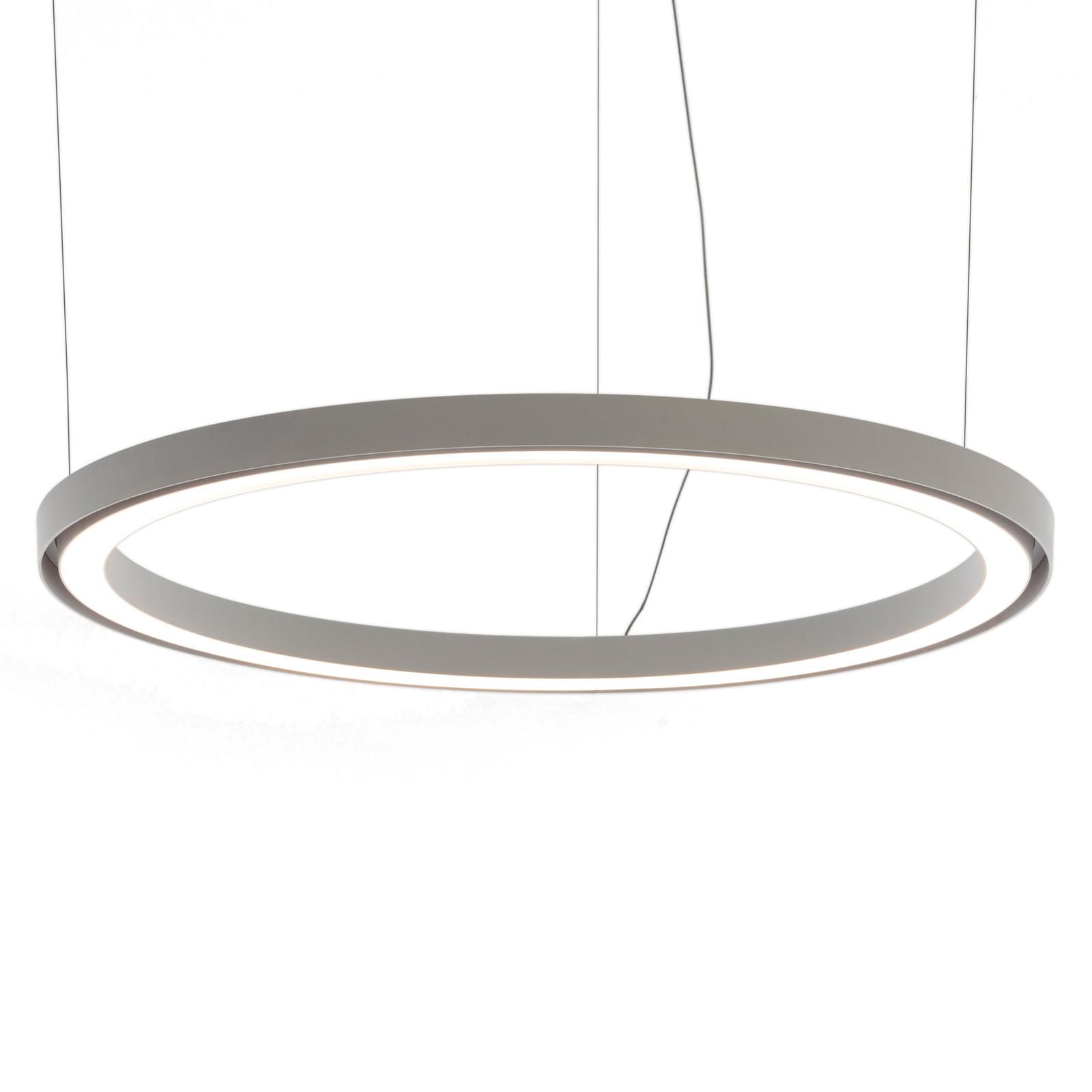 Artemide Ripple -LED-riippuvalo, sovellus, Ø 90 cm