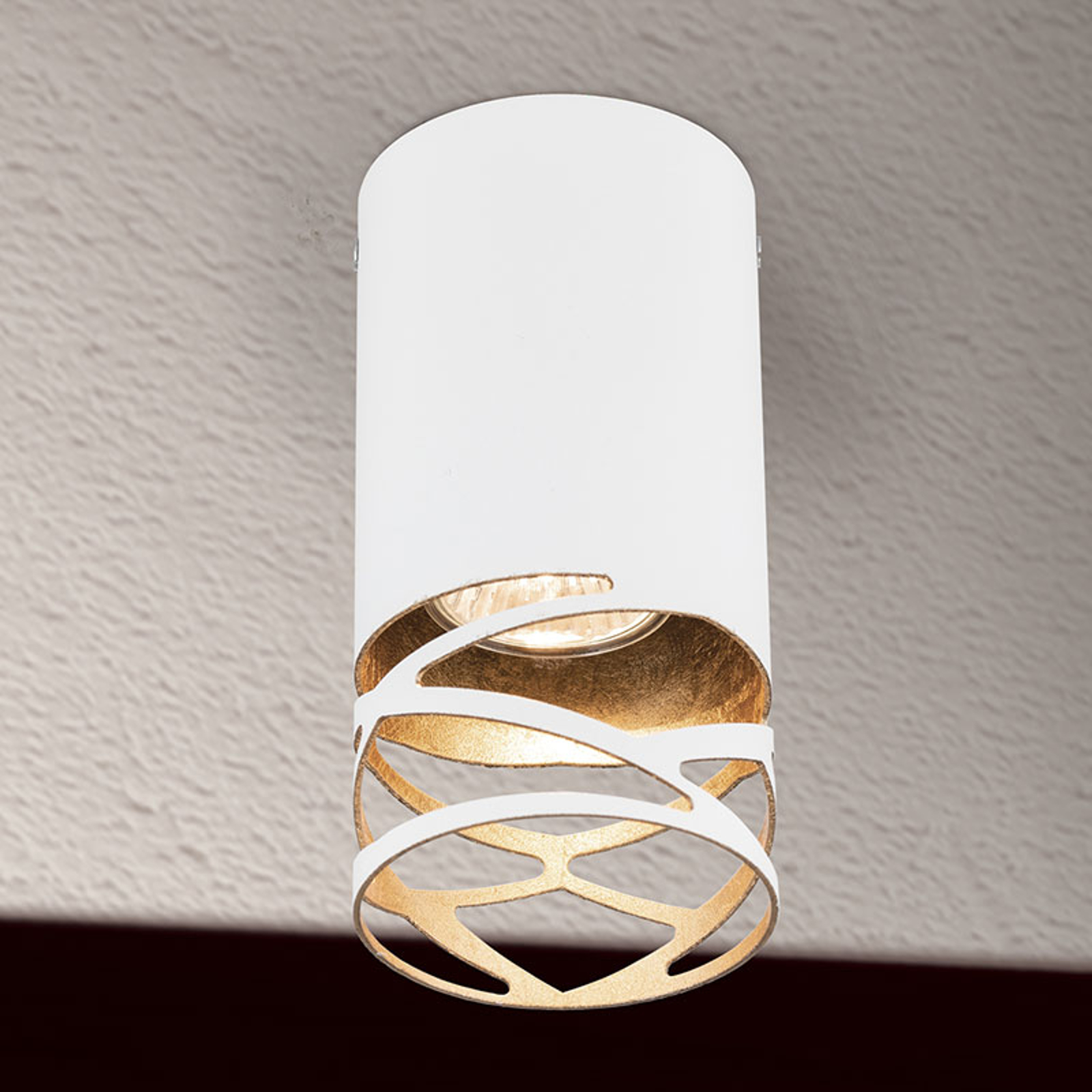 Lampa sufitowa Trance z motywem wycinanym laserowo
