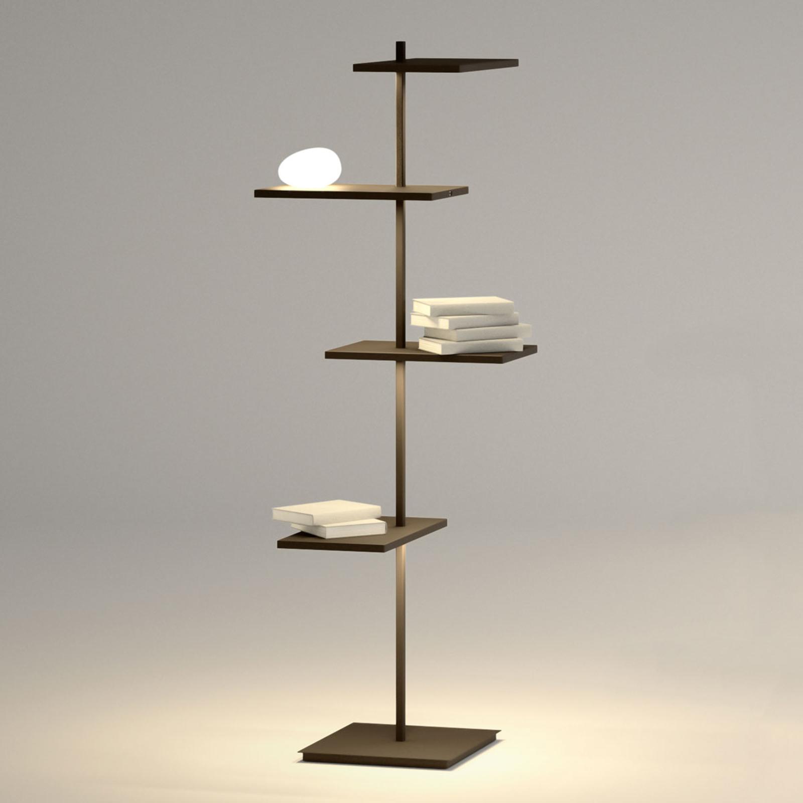 Vibia Suite multifunktionale LED-Stehleuchte 133cm