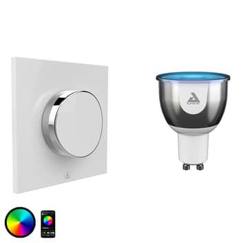 AwoX SmartLIGHT Color-LED-lamppu GU10 +SmartPEPPLE