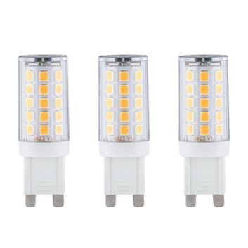 Paulmann bombilla LED bi-pin G9 2,2W 2.700K, set 3