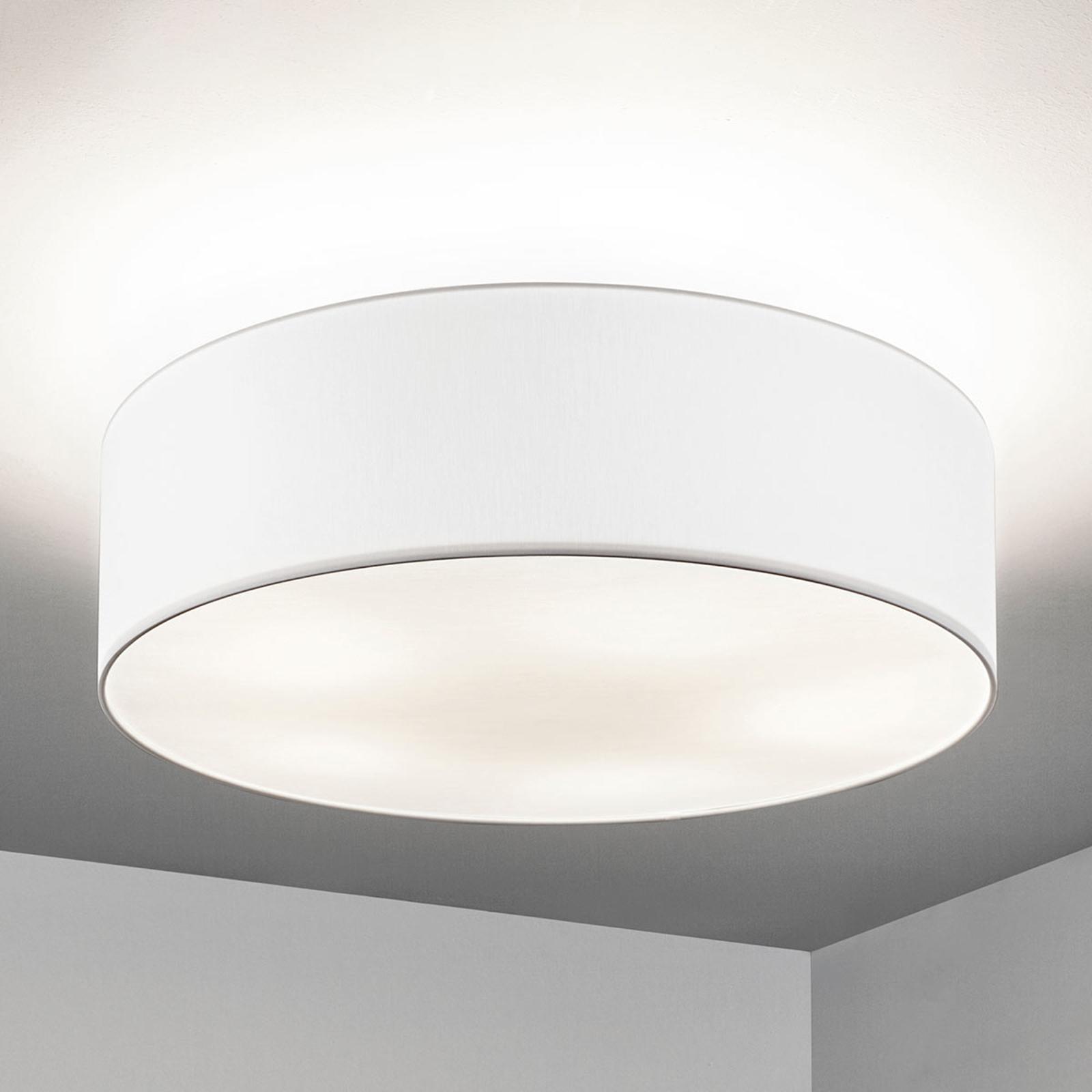 Lampa sufitowa Gala, 60cm, klosz chinz biały