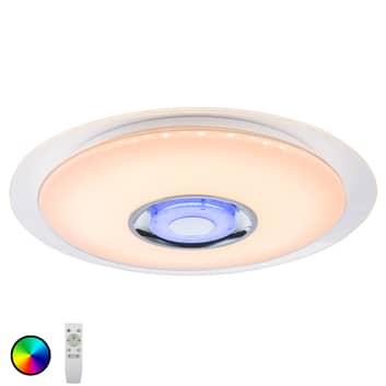 LED-taklampa Tune RGB med högtalare