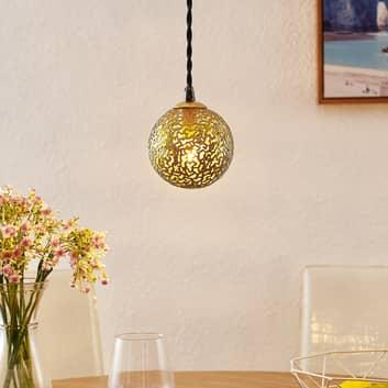 Lucande Zale hanglamp, oosters, 1-lamp