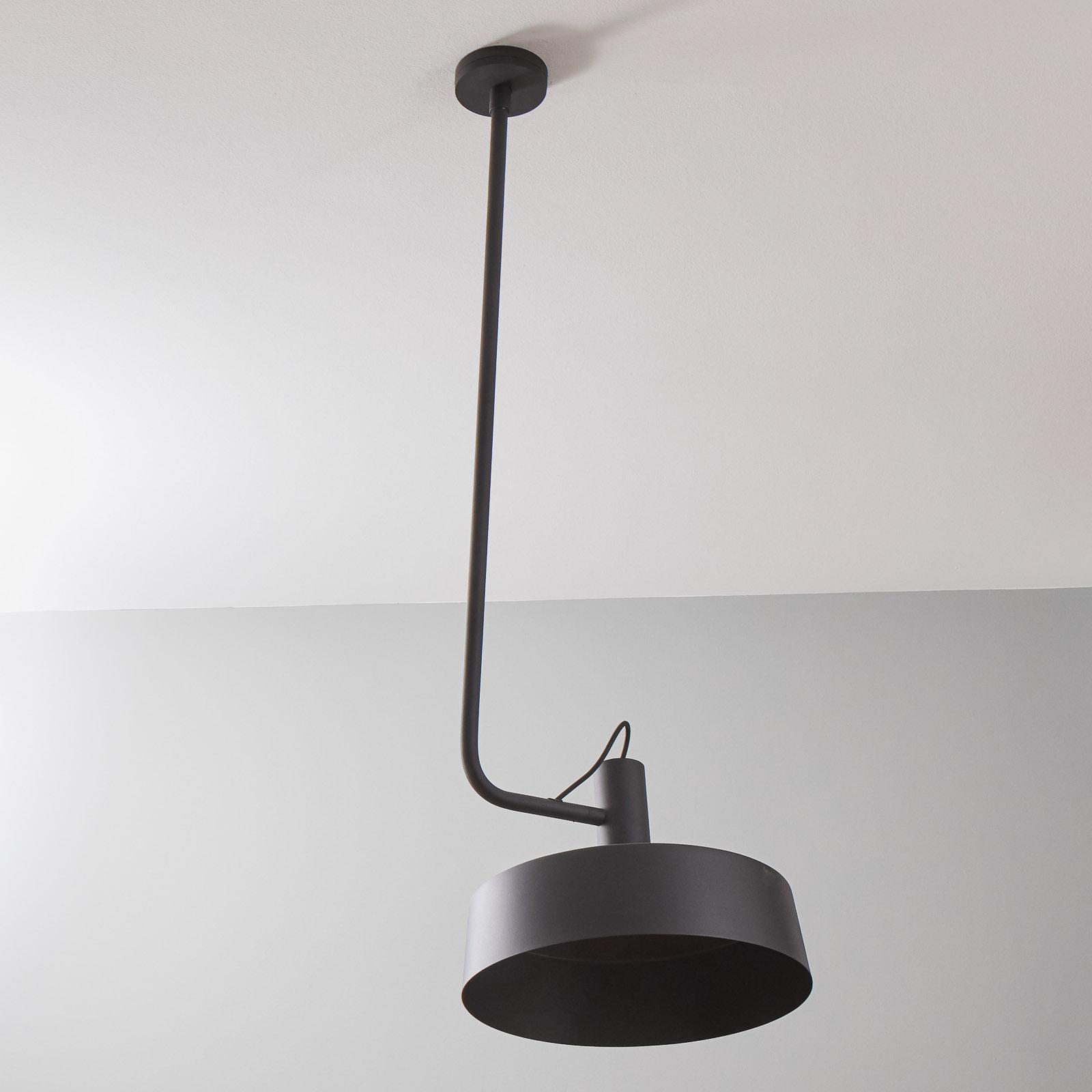 WEVER & DUCRÉ Roomor sosp. GU10 1fl 40,5cm nero