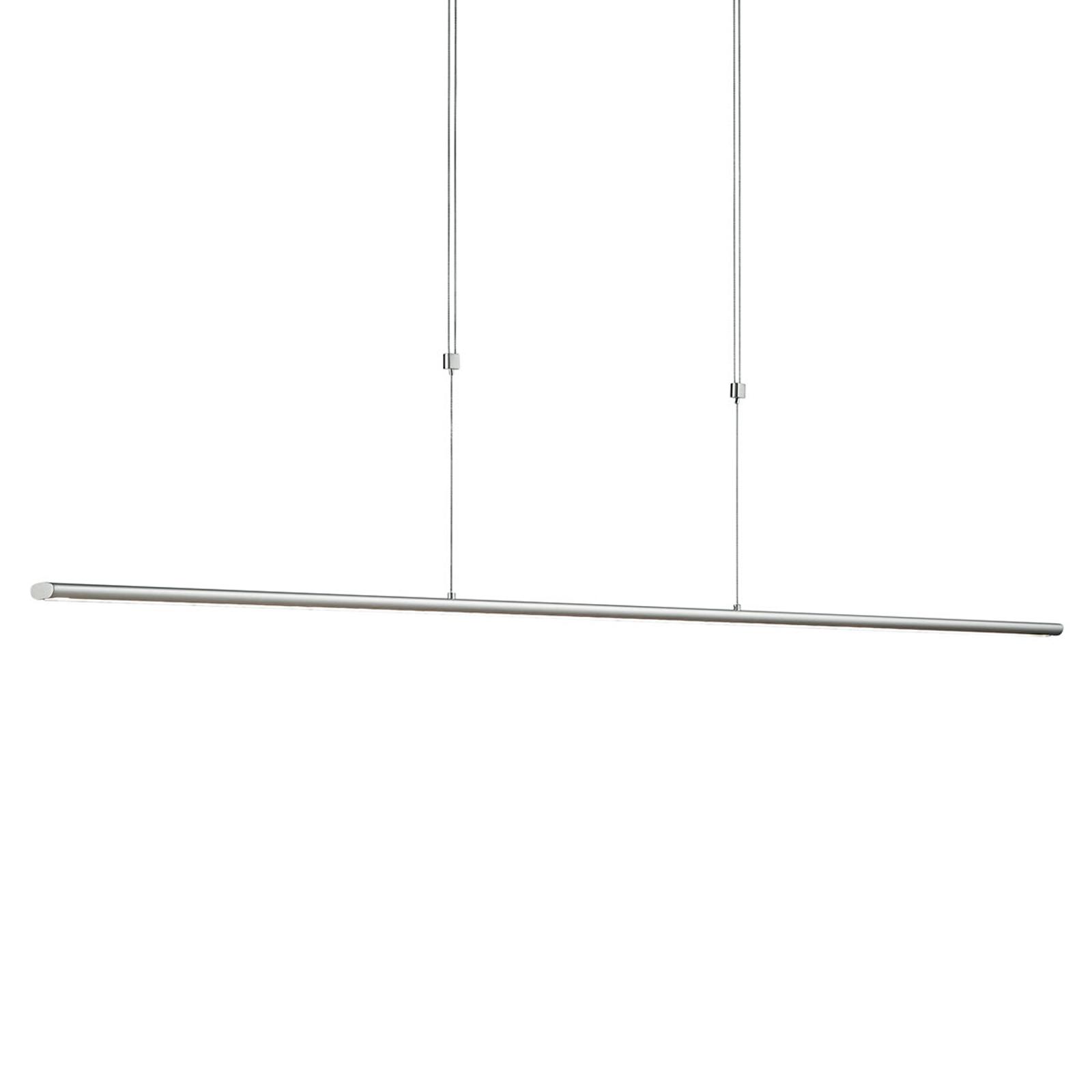 Lampa wisząca LED w formie belki Elisa, na gesty