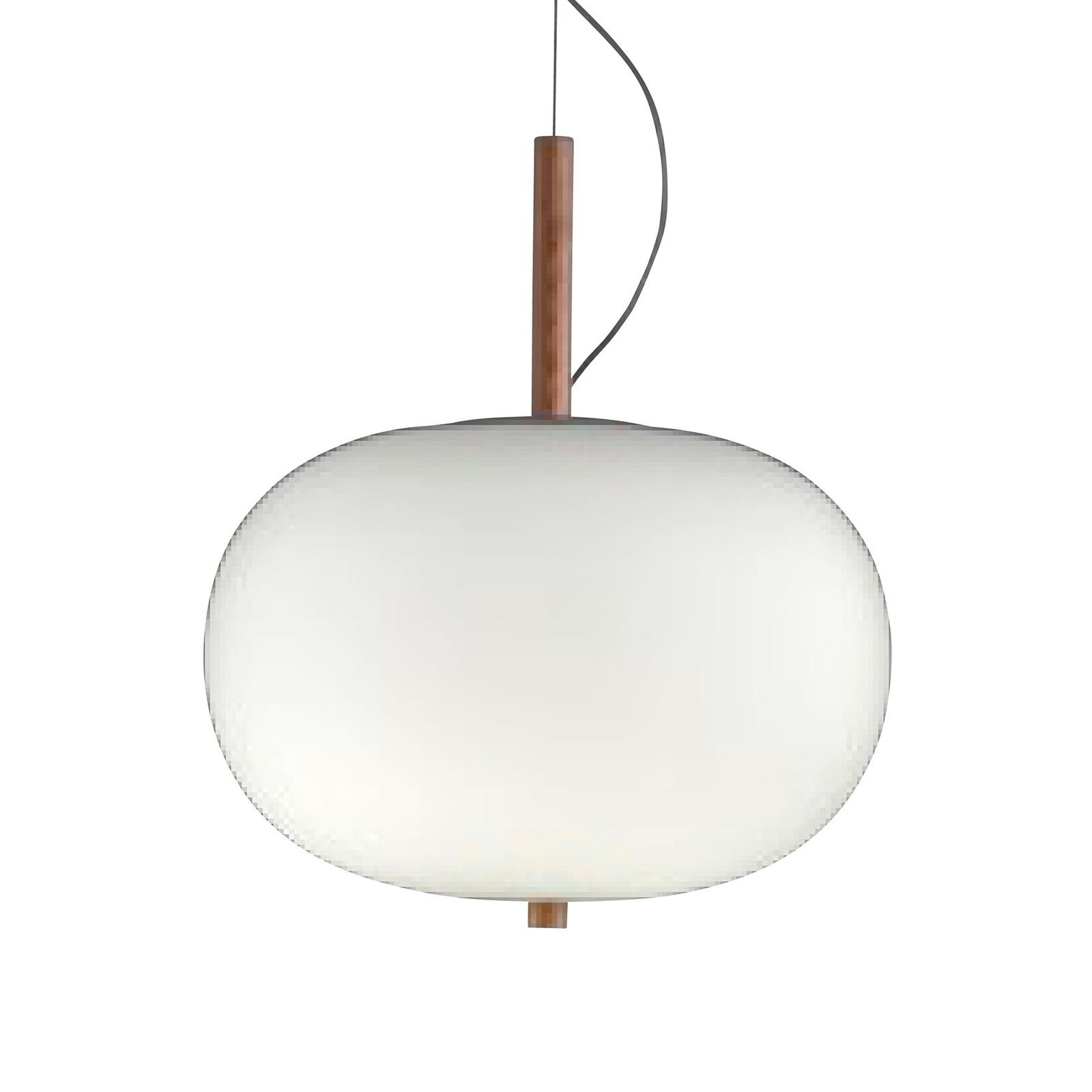 Grok Ilargi Phase LED-pendellampe, lys, Ø 32 cm