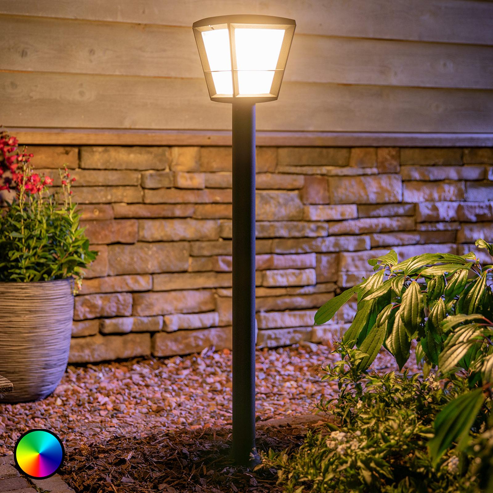 Philips Hue White+Color Econic LED-Wegeleuchte