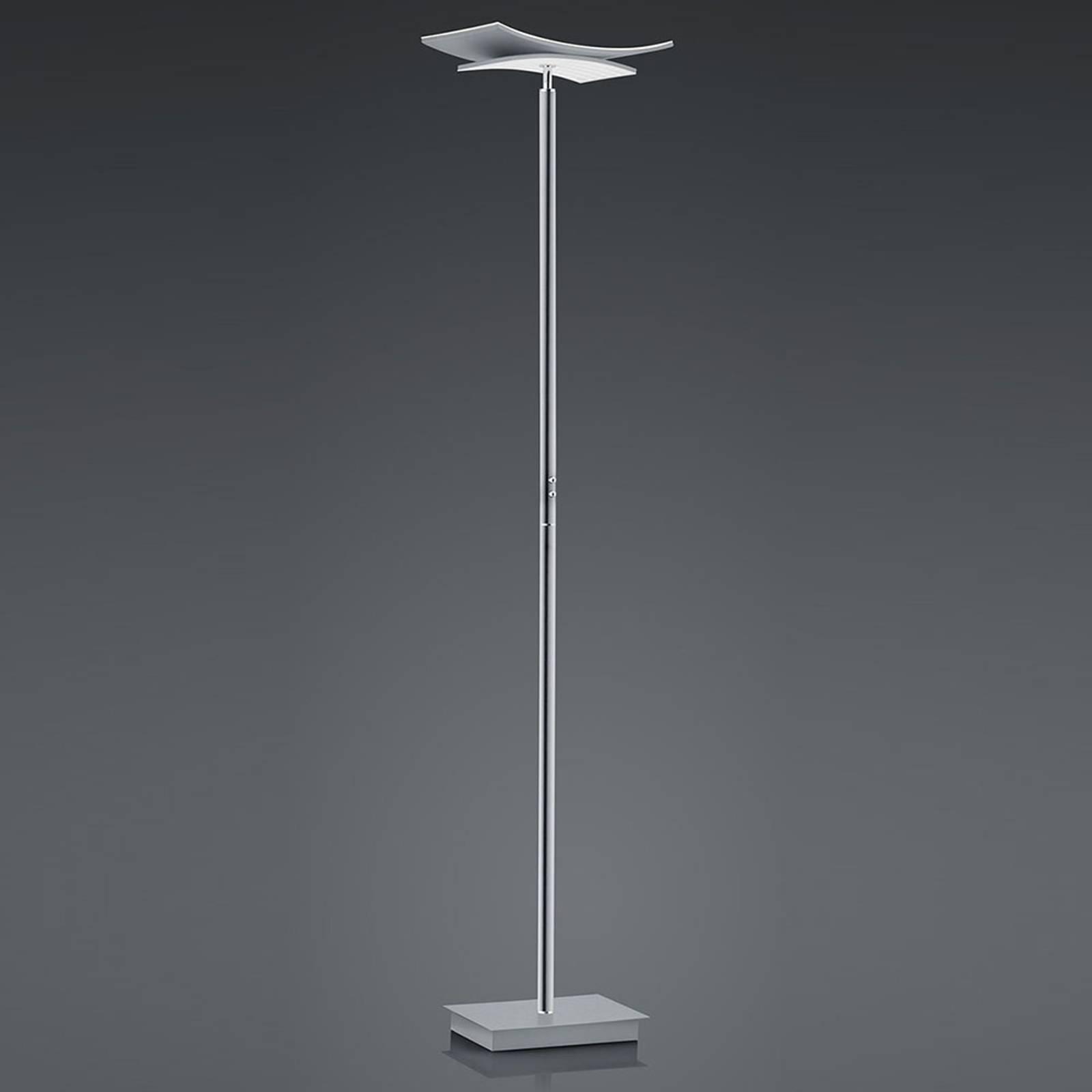 B-Leuchten Liberty LED-Stehleuchte, nickel matt