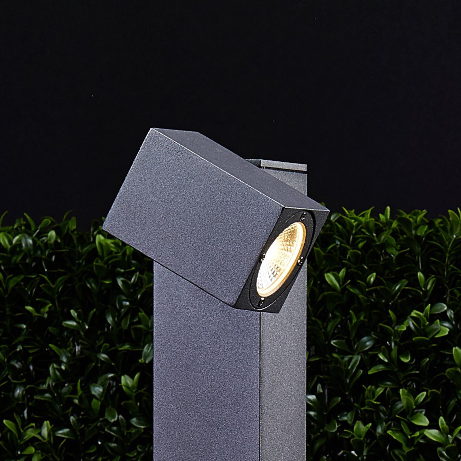 Borne lumineuse LED Lorik à tête flexible