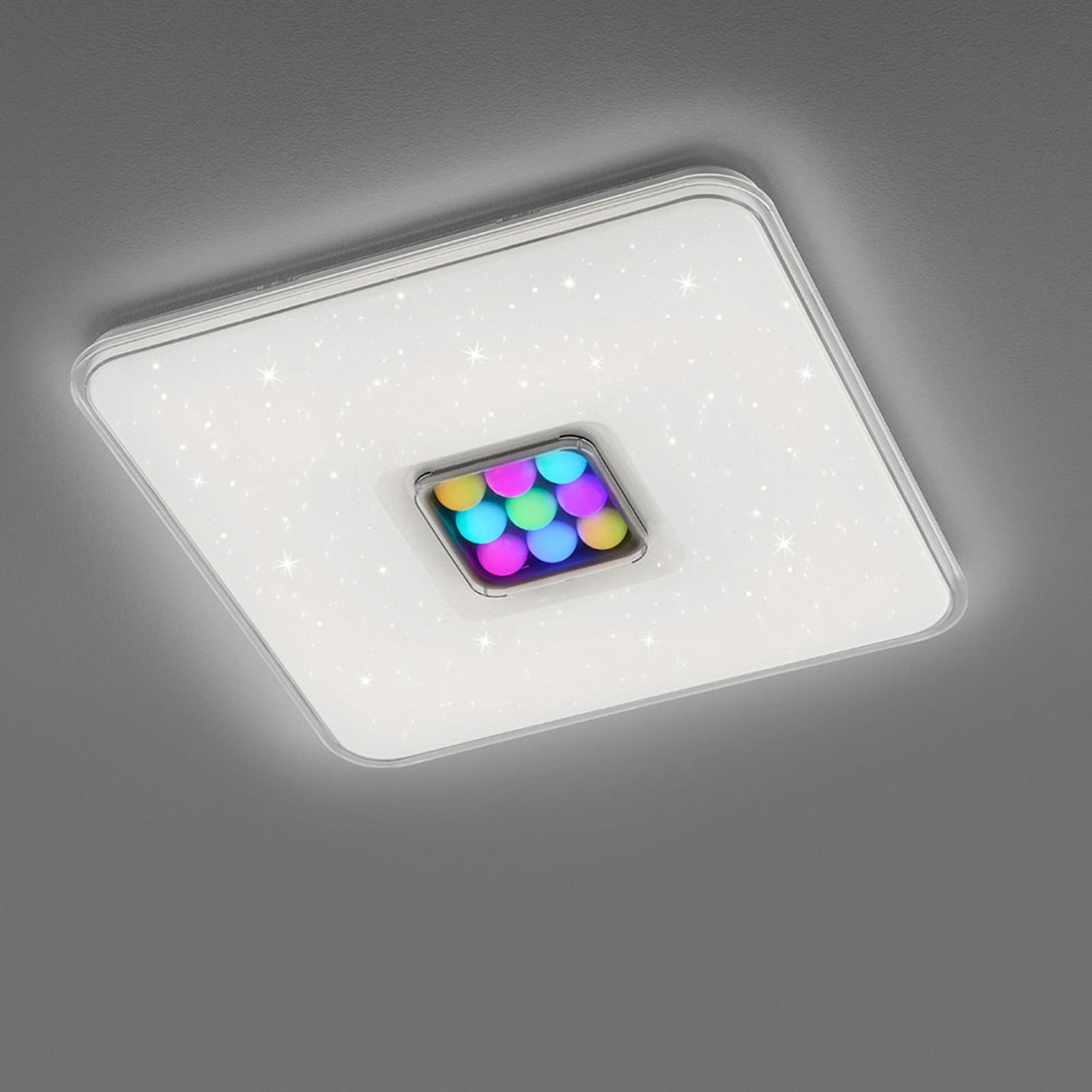 Lampa sufitowa LED Ogasaki, RGBW, pilot, 52cm