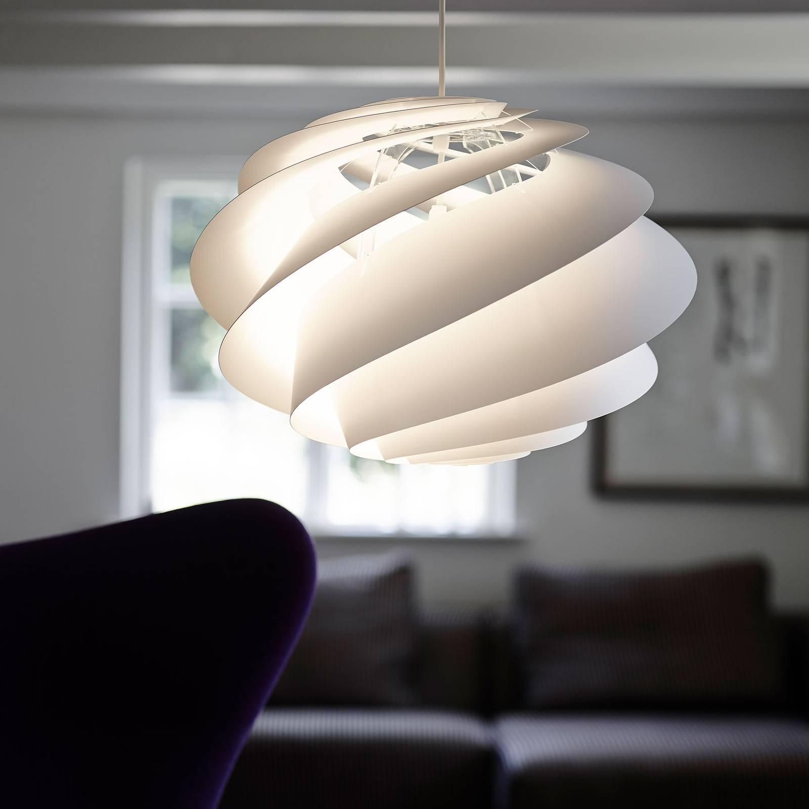 LE KLINT Swirl 3 Small - hanglamp in wit