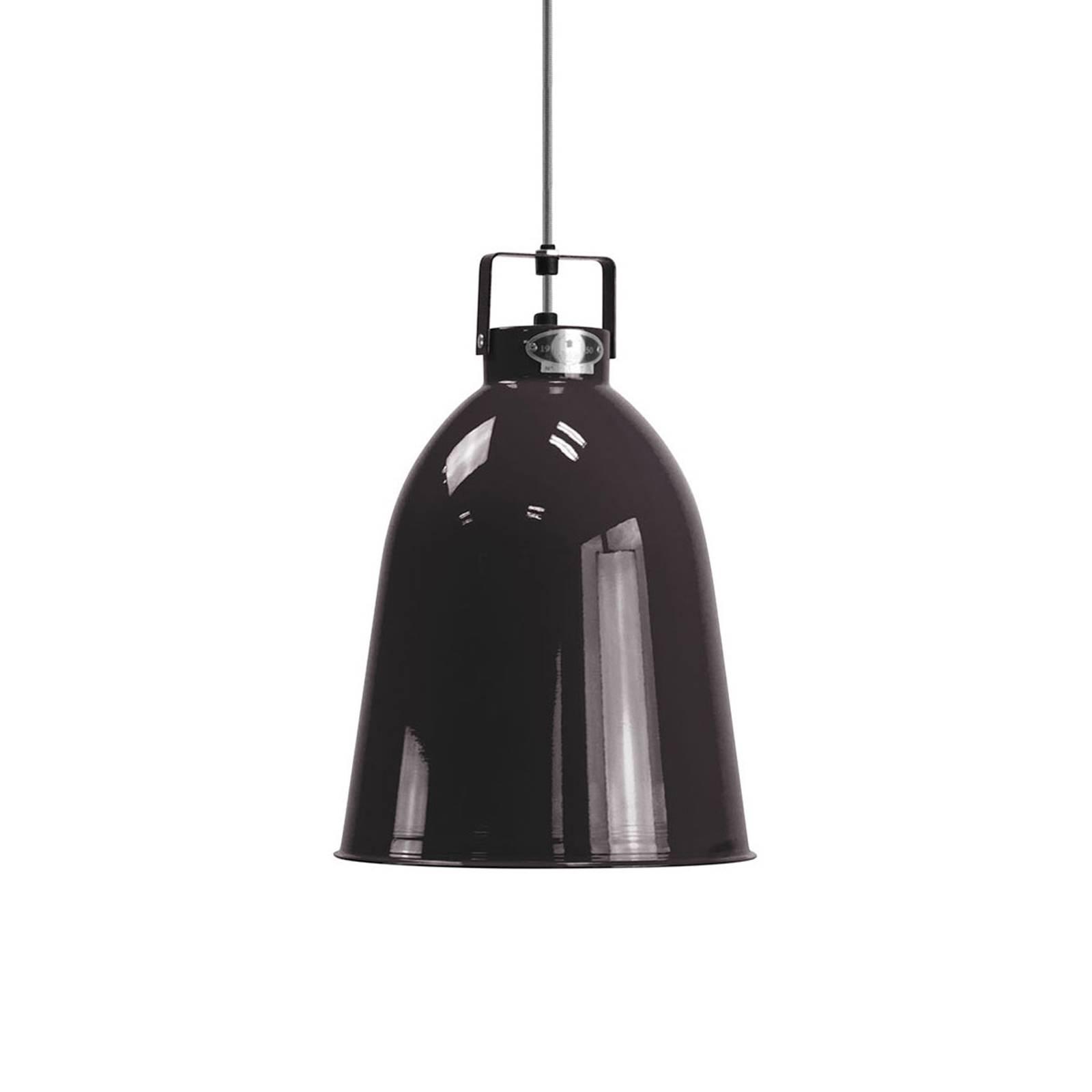 Jieldé Clément C240 lampa wisząca czarna Ø24cm