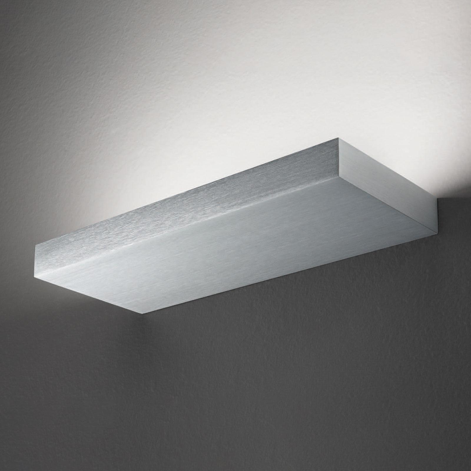 Applique LED Regolo, longueur 24cm aluminium
