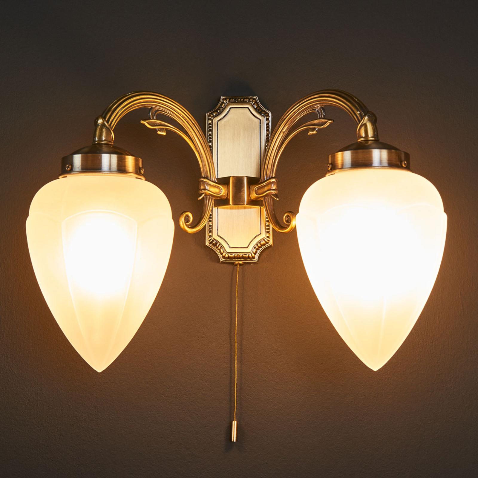 Impery væglampe med to lyskilder