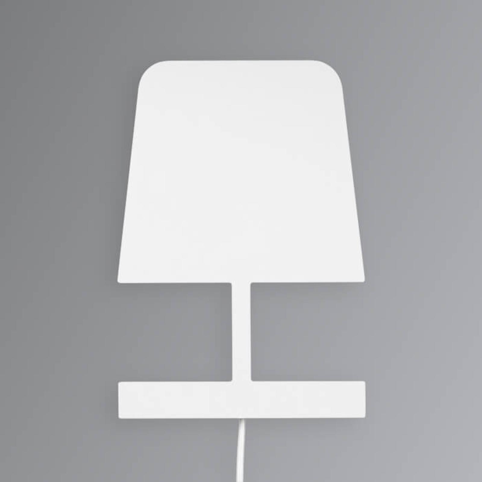Vlakke design wandlamp Plates