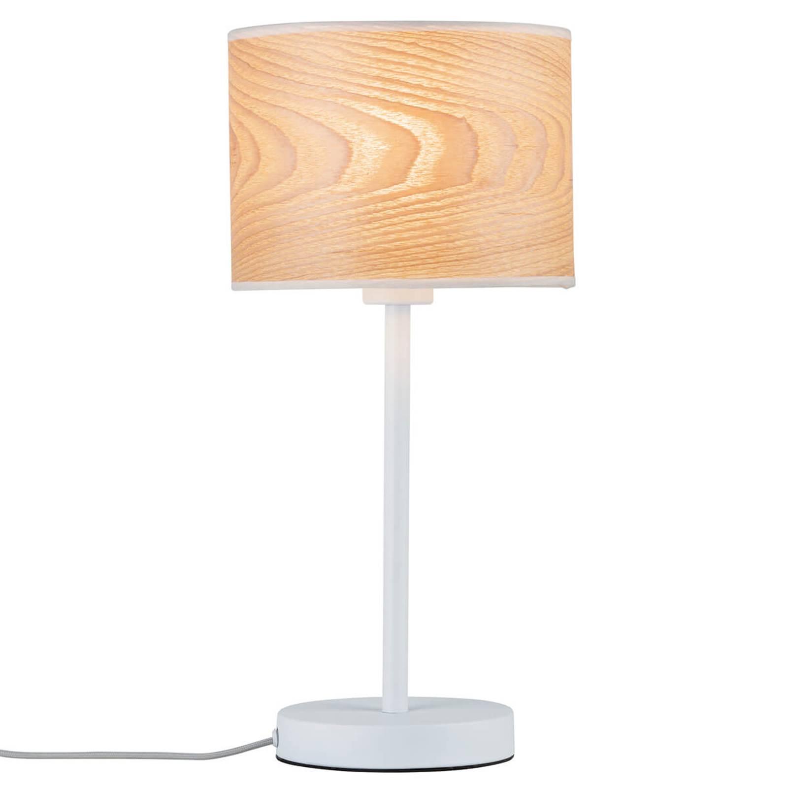 Een echt natuurproduct - houten tafellamp Neta