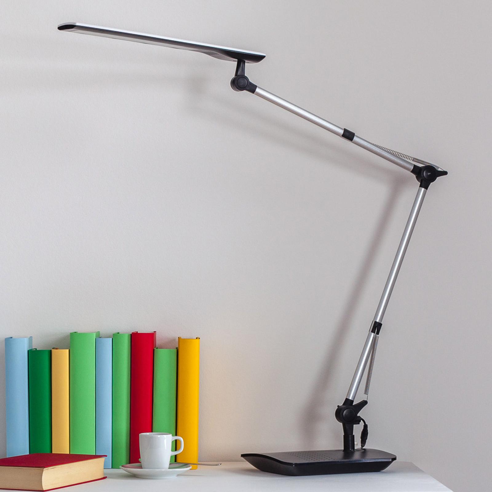 Felipe - LED stolní lampa s úchytem