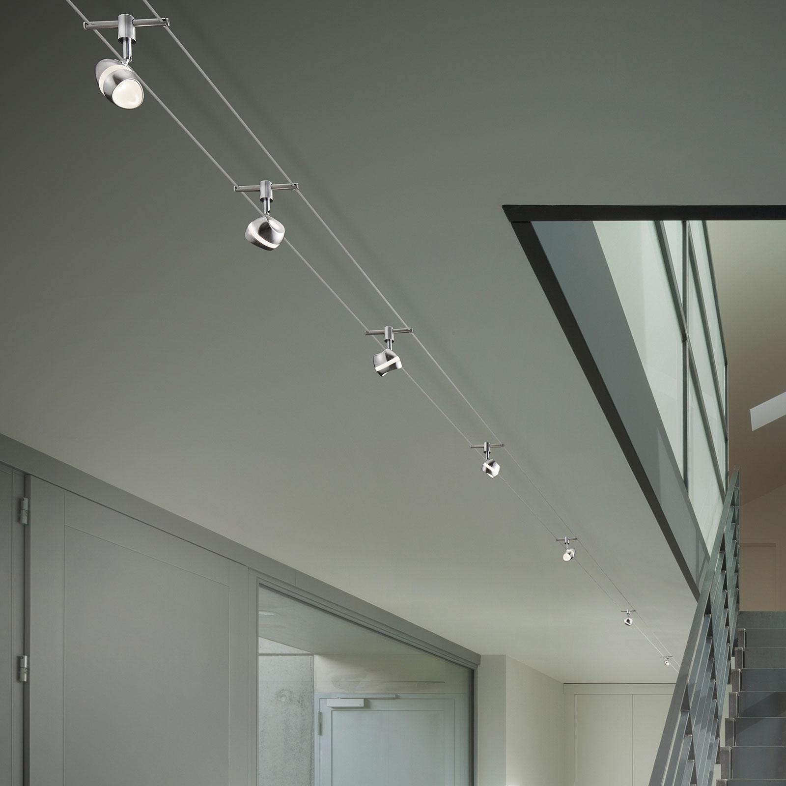 Shark - moderne LED-wiresystem, 7 lyskilder