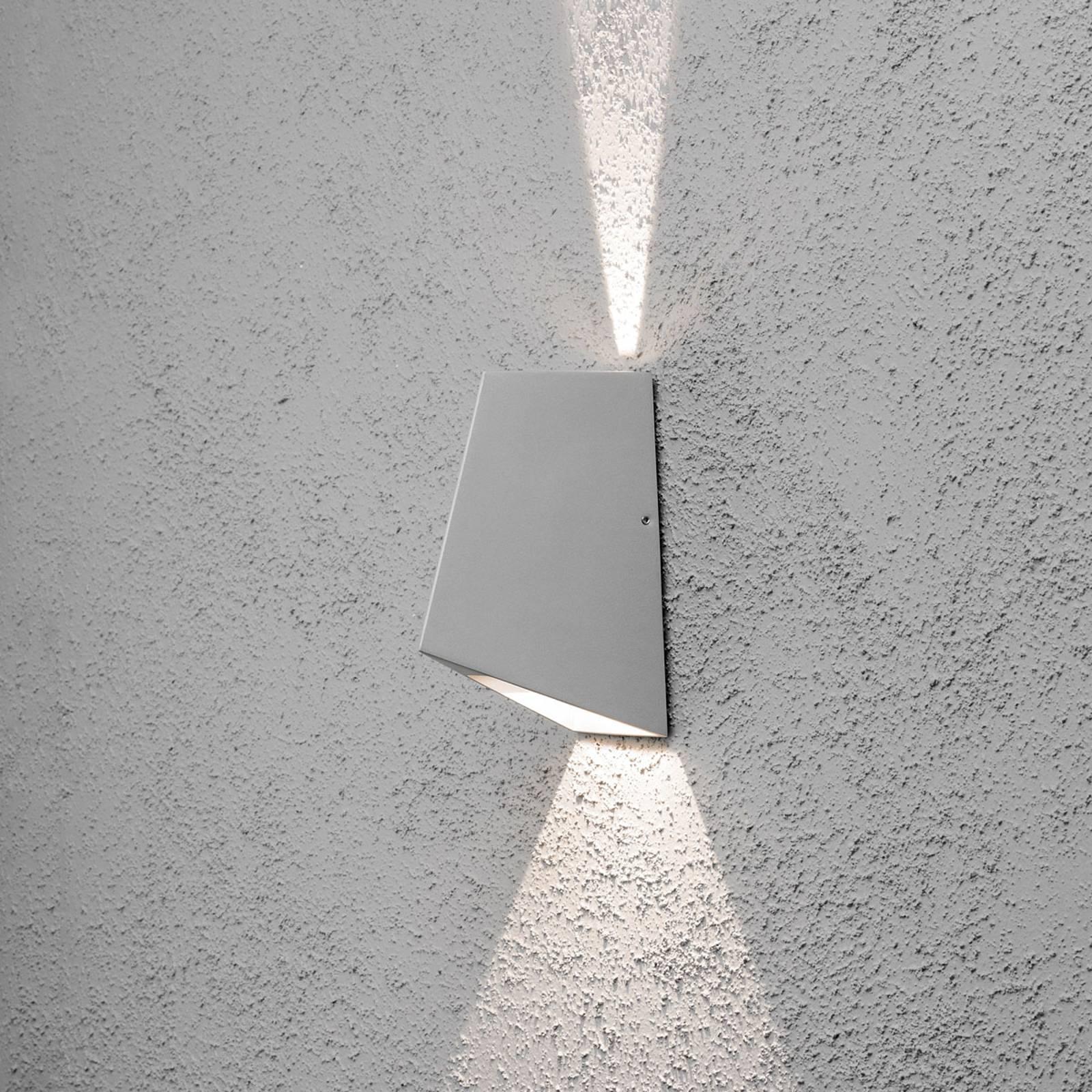 LED buitenwandlamp Imola, 2-lamps