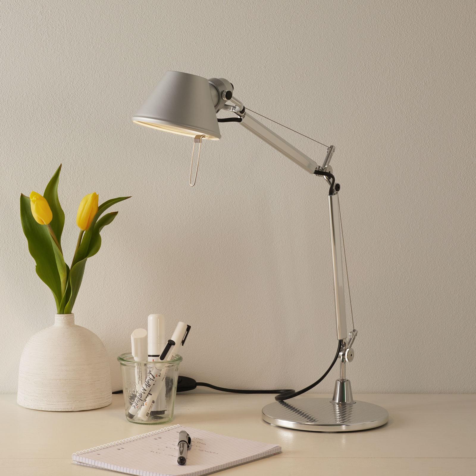 Tidlös designer-bordslampa Tolomeo Micro