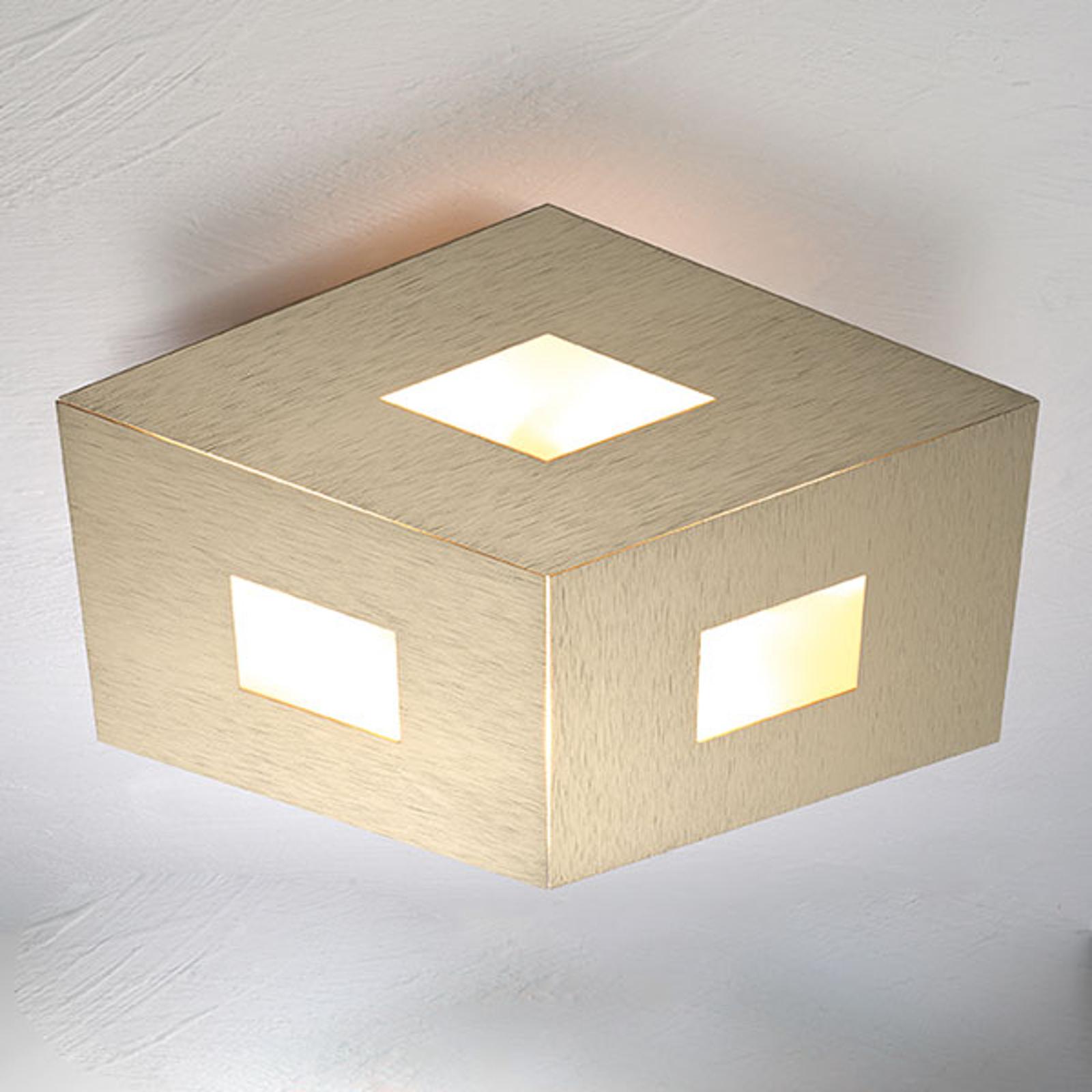 Bopp box Comfort LED plafondlamp goud 45cm