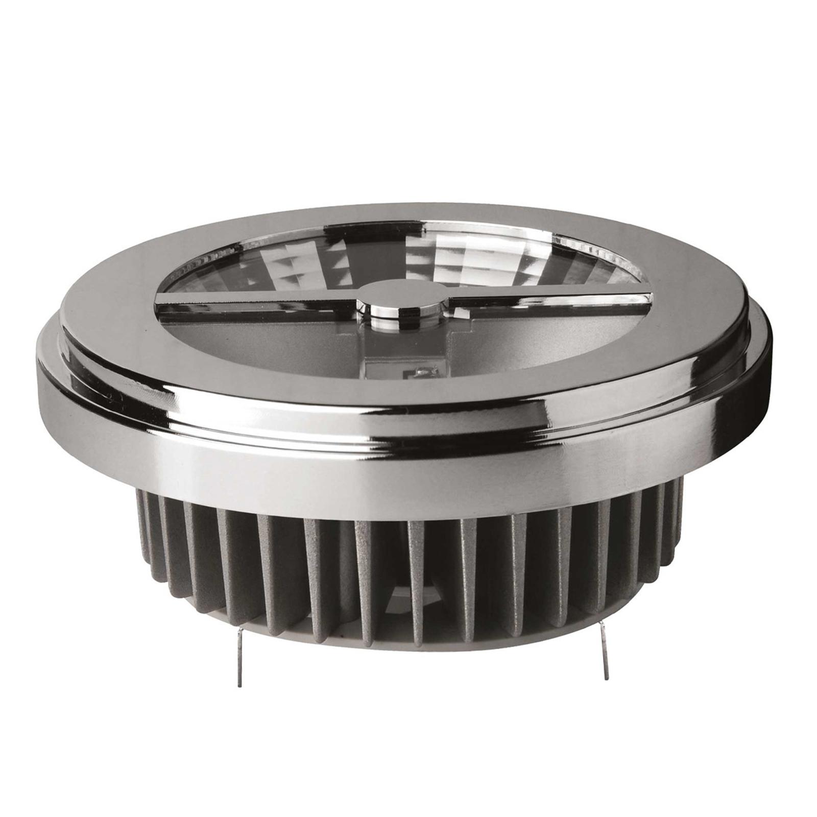 Ampoule LED G53 10W 840 8°, à intensité variable