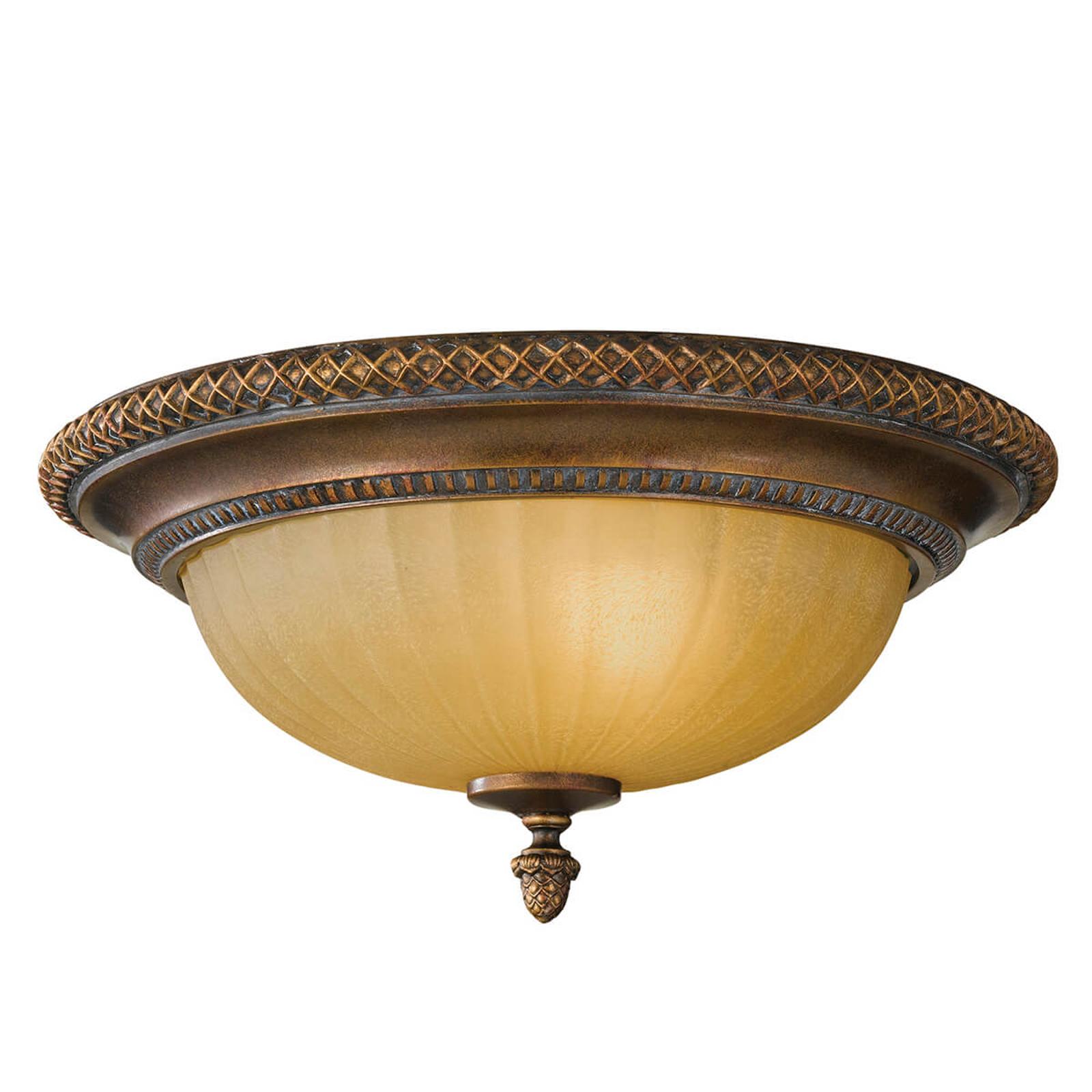 Okrągła lampa sufitowa Kelham Hall