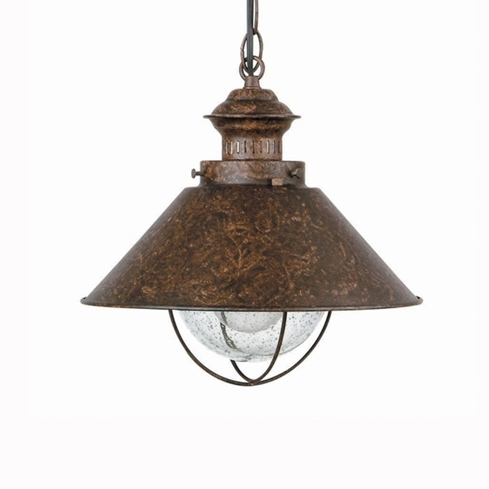 Hanglamp Nautica met robuuste look, 34,5 cm