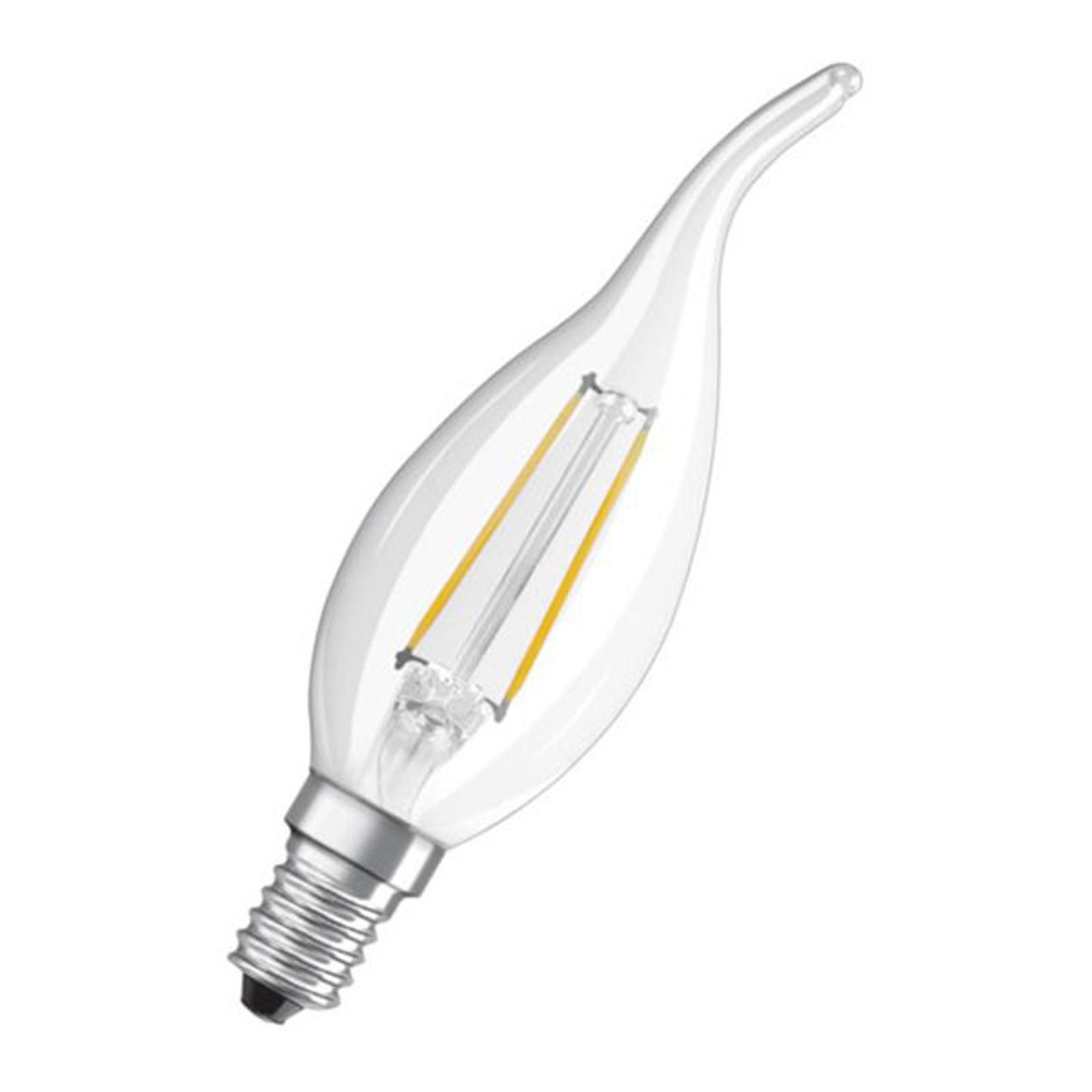 OSRAM Classic B LED-pære E14 2,5 W 2700K vindkast