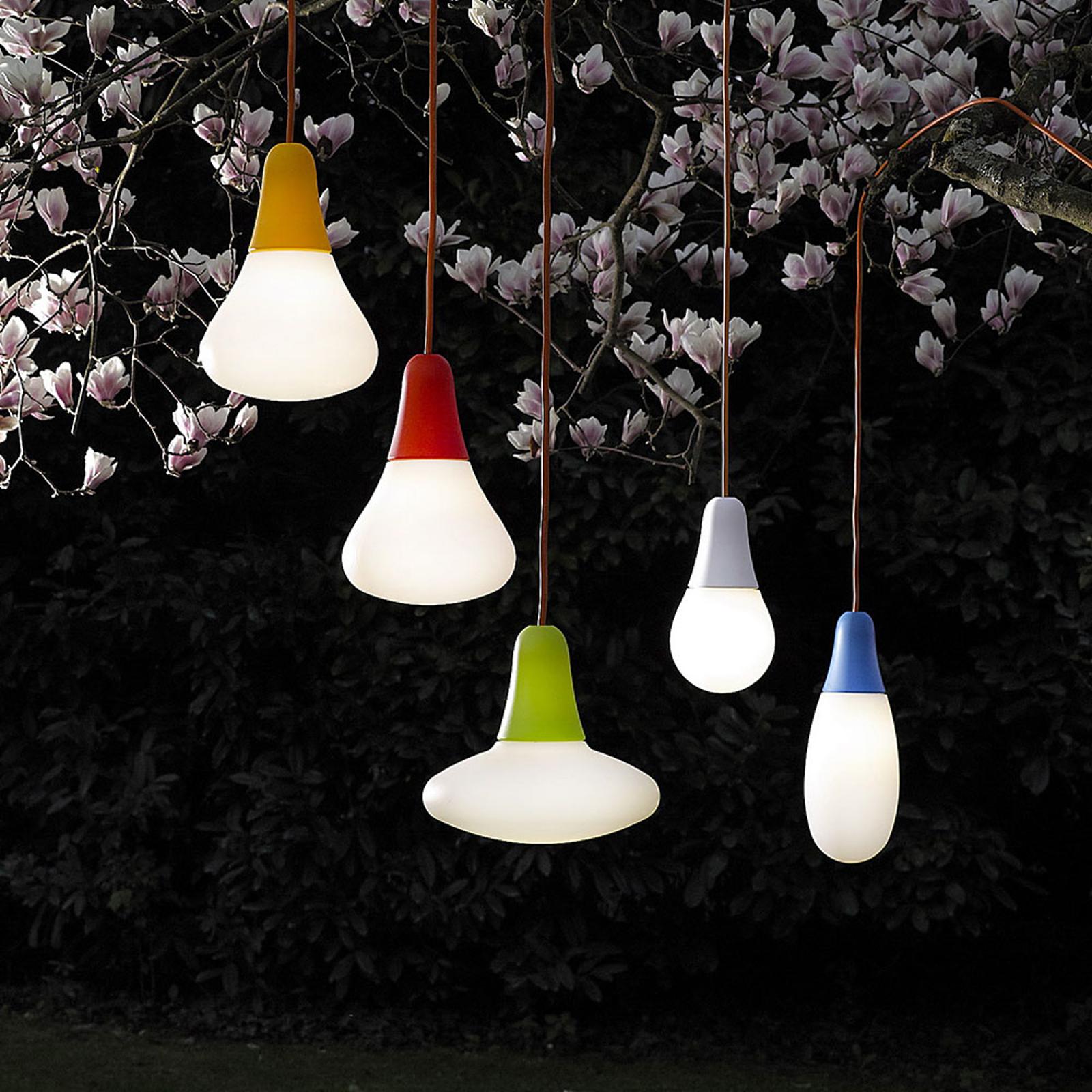 Martinelli Luce Ciulifruli udendørs hængelampe rød