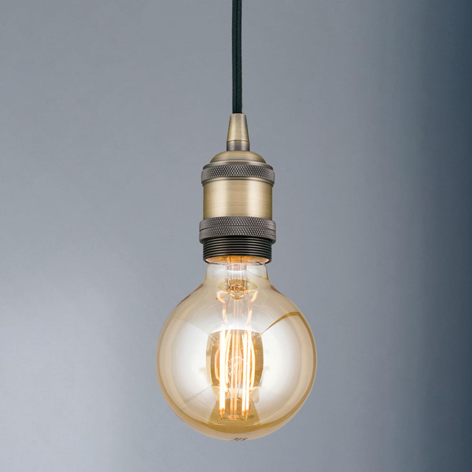 Lampa wisząca oprawa Jailhouse mosiądz matowy