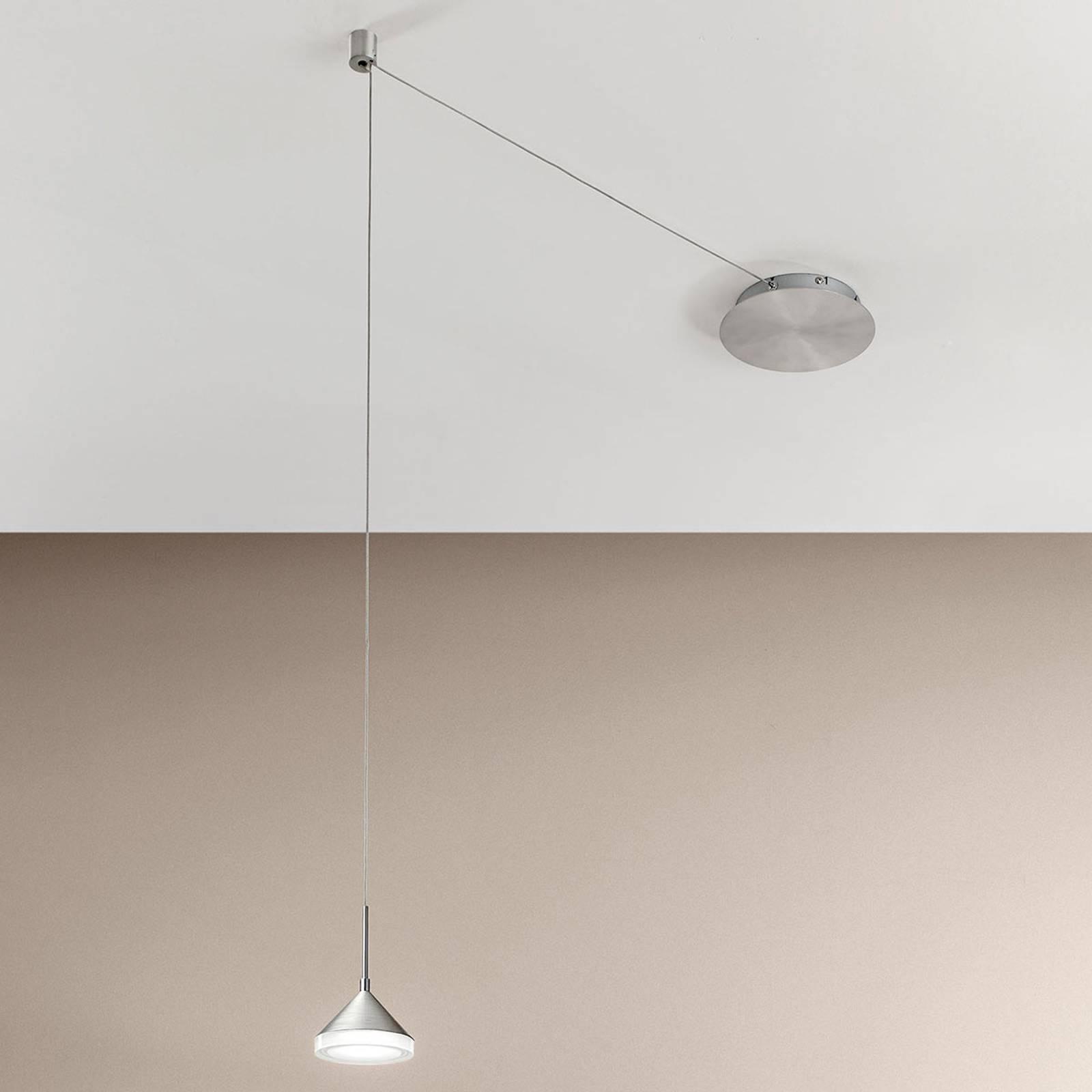 Suspension LED Isabella à 4 emplacements de câbles