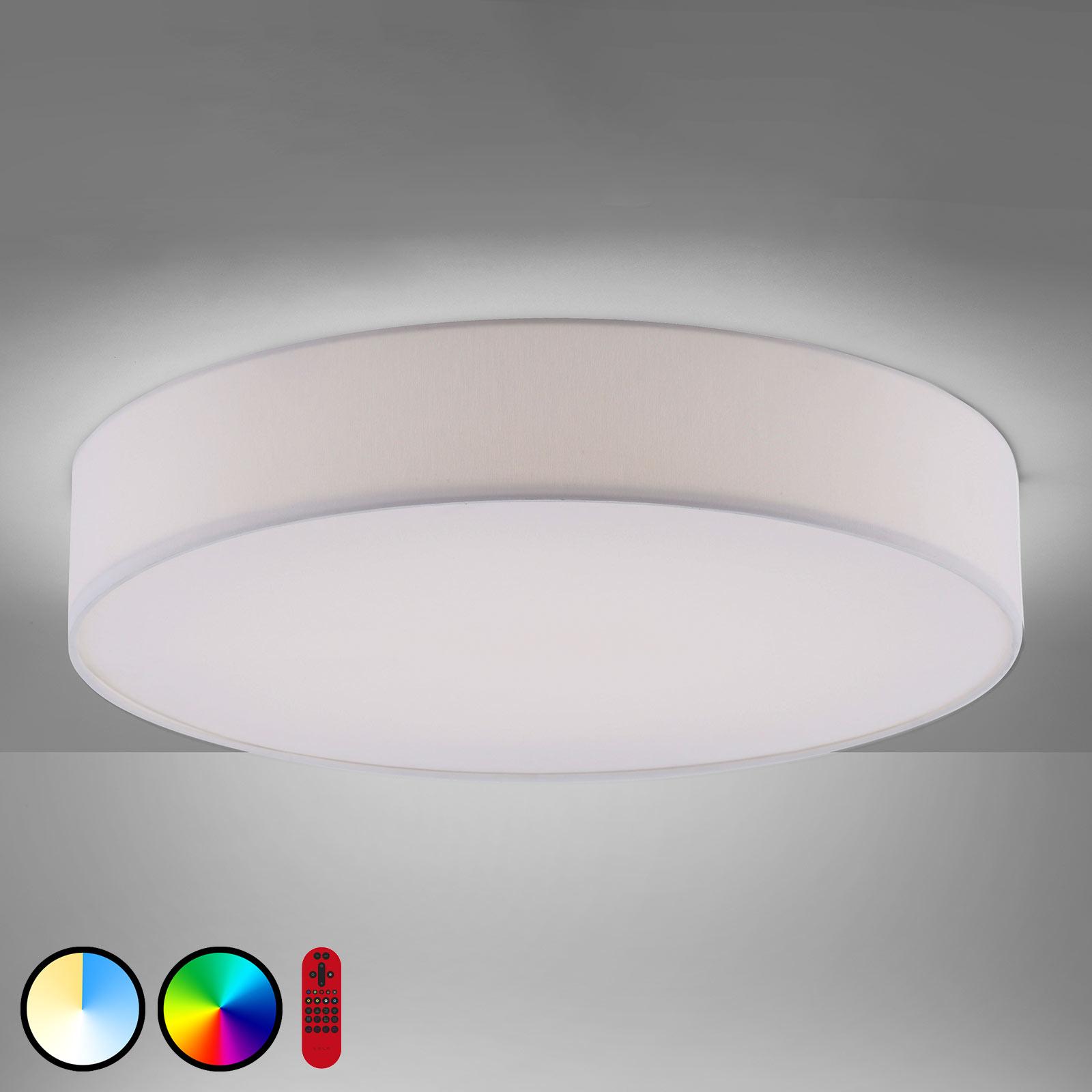 Plafonnier LED LOLAsmart Kiara, Ø 58cm
