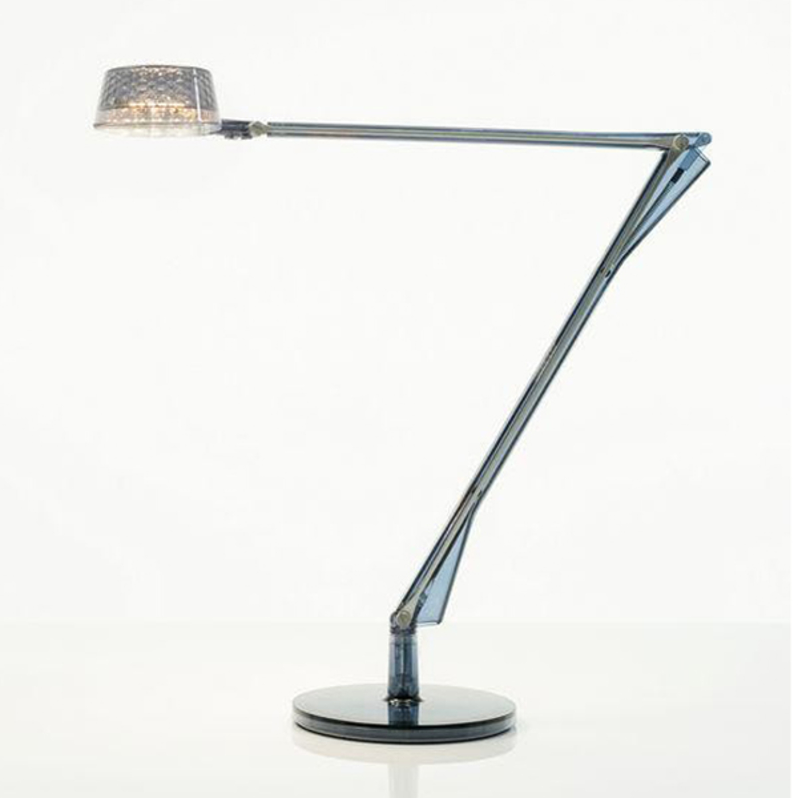 Lampada da tavolo LED Aledin Dec, blu