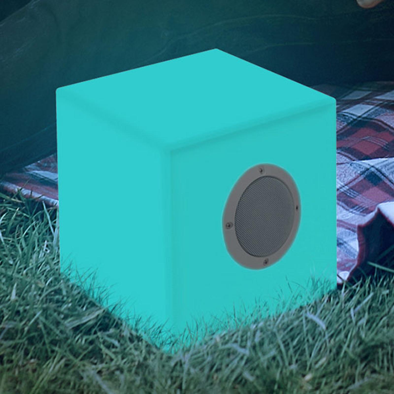 Newgarden Cuby Play LED-Würfel Akku 20 x 20 cm