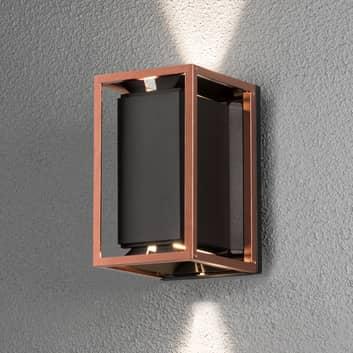 Moderne LED-Wandlampe Vale, handgefertigt