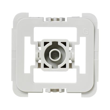 Homematic IP adaptateur interrupteurs Gira 55 1x