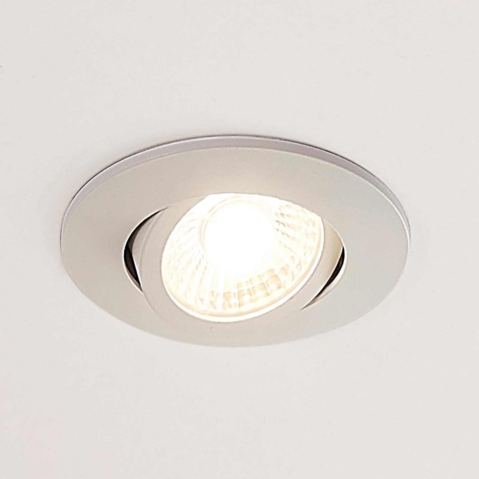 Arcchio Ricals downlight LED, ściemniany
