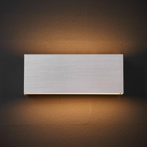 Applique LED Kimberly, 23x9cm, aluminium