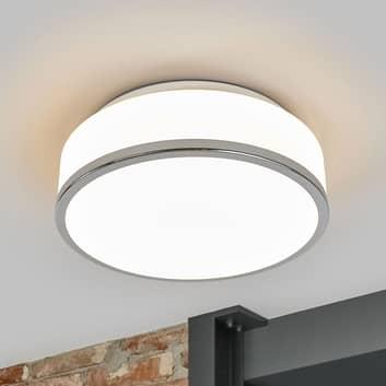 Lampa sufitowa Flush IP44, Ø 28 cm, chrom