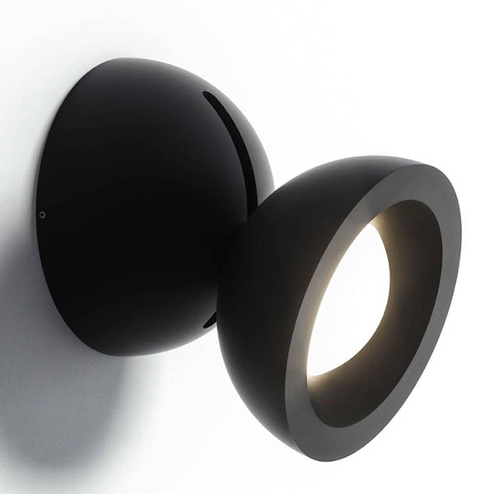 Axolight DoDot applique LED, noire 15°