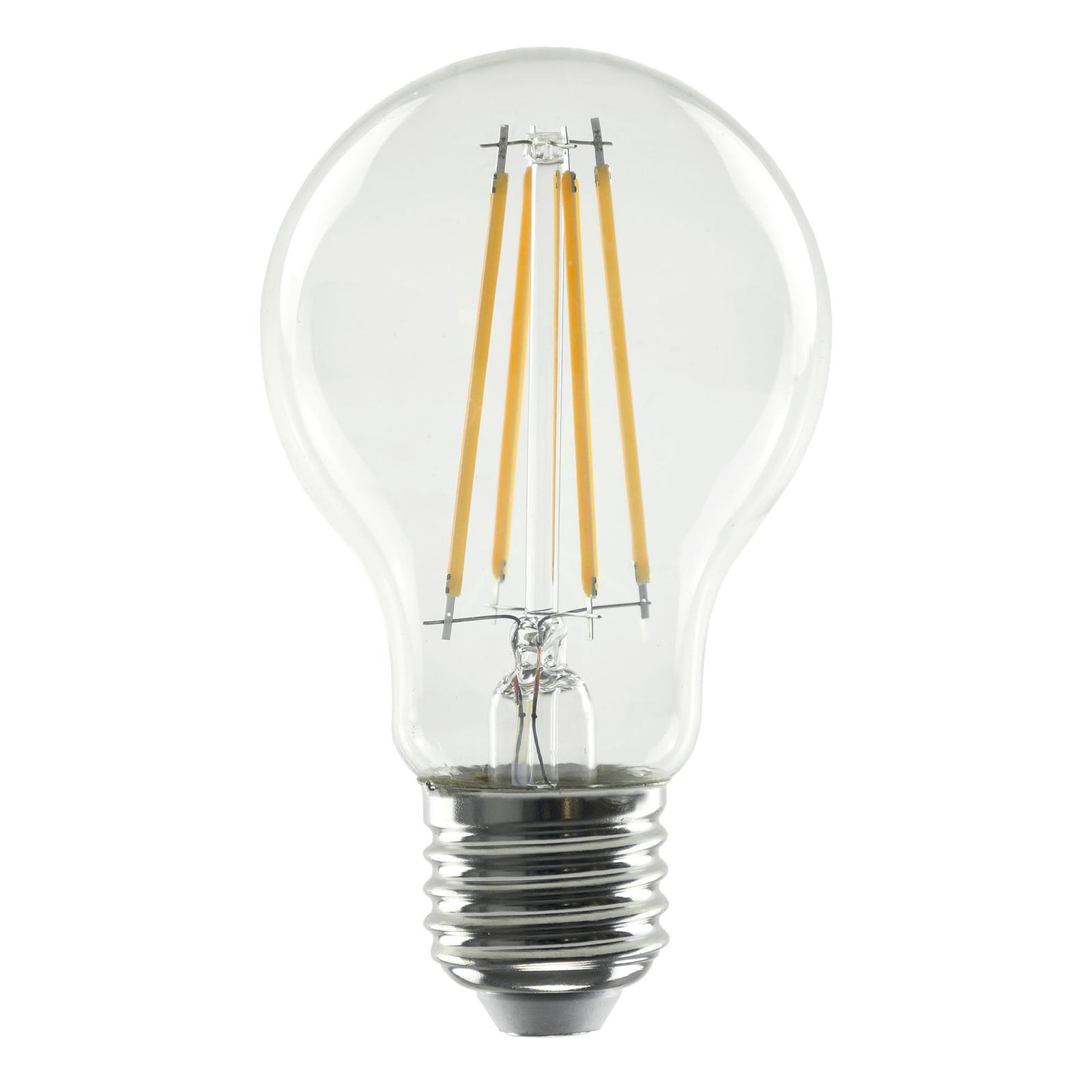 SEGULA LED-Lampe E27 8,5W 827 Filament klar