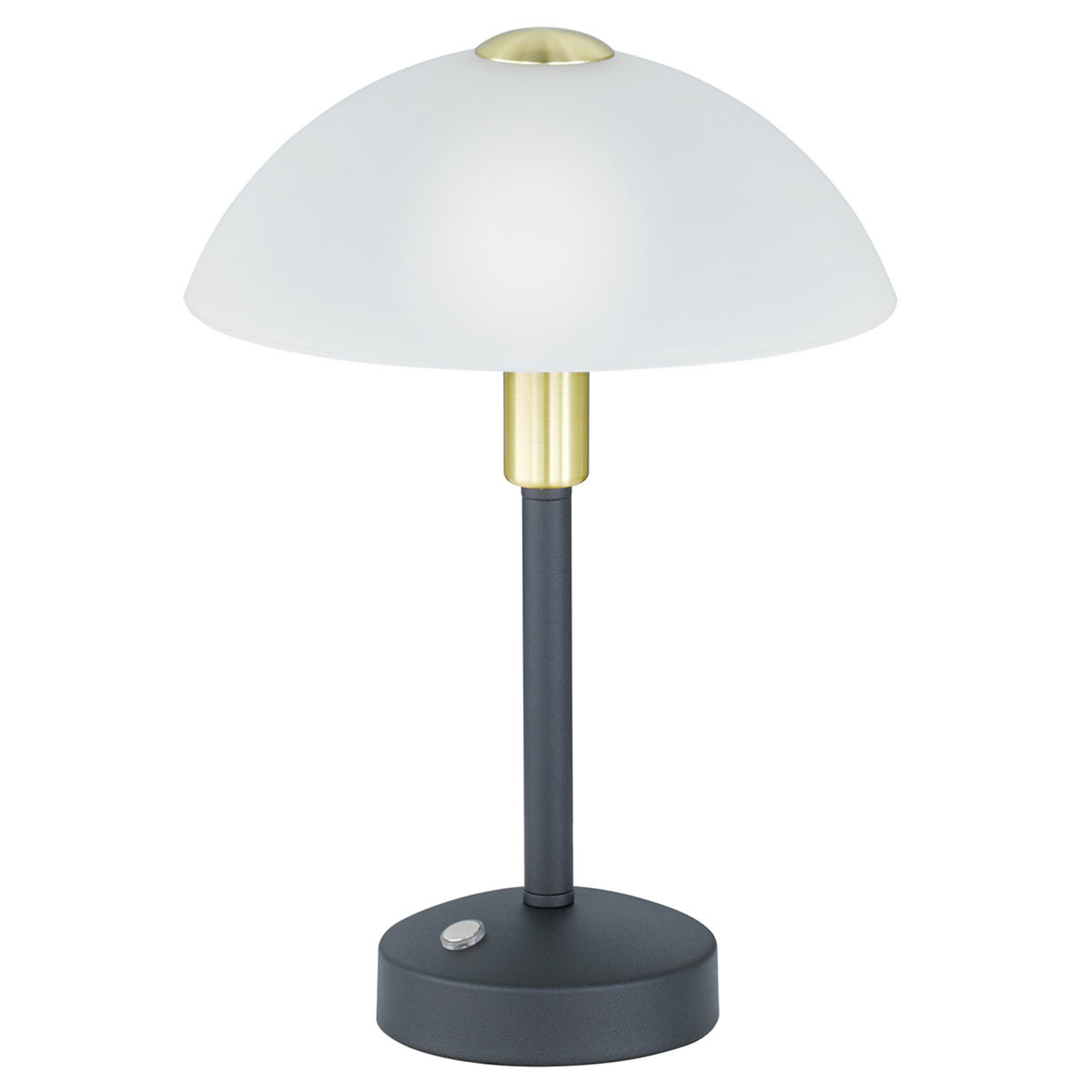 Dimbar LED-bordlampe Donna, svart