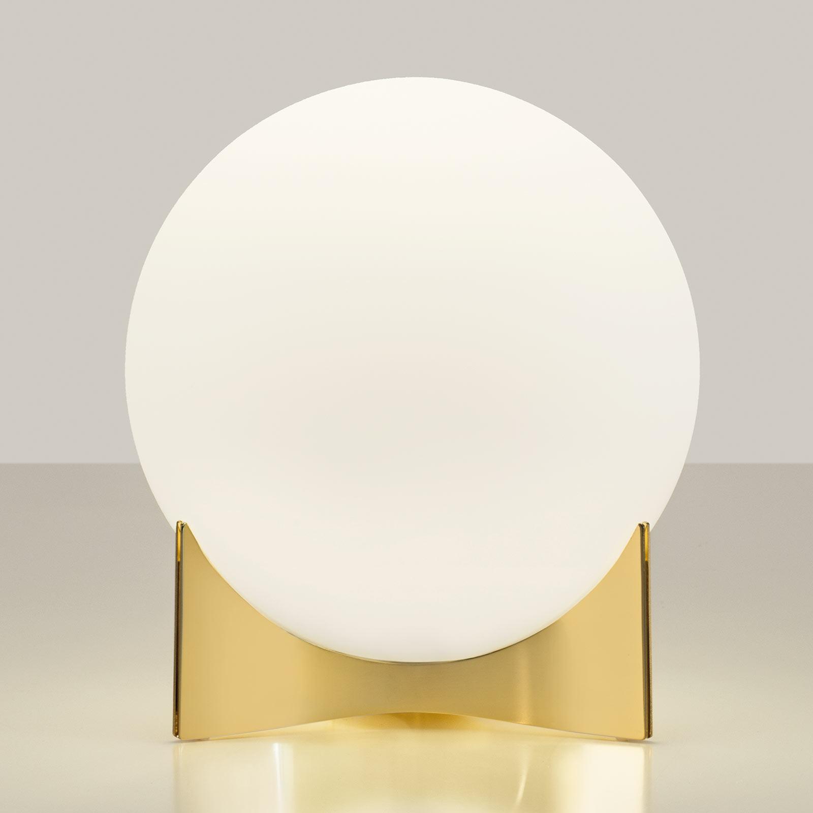 Terzani Oscar tafellamp van glas, goud