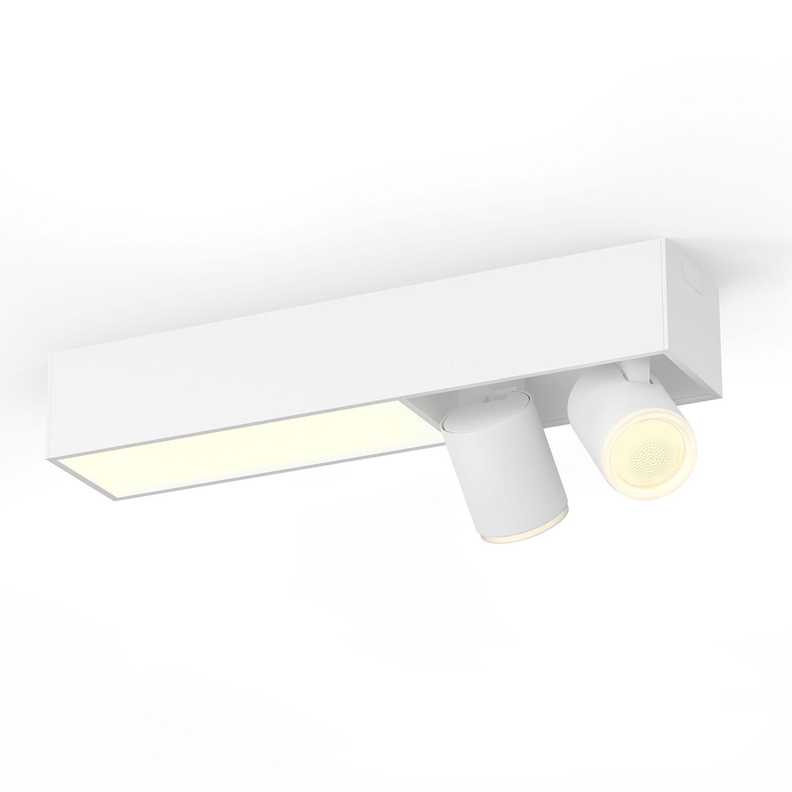 Philips Hue LED-spot 2 lyskilder, hvit
