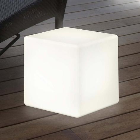 Solcelle-dekorasjonsbelysning LED Shining Cube