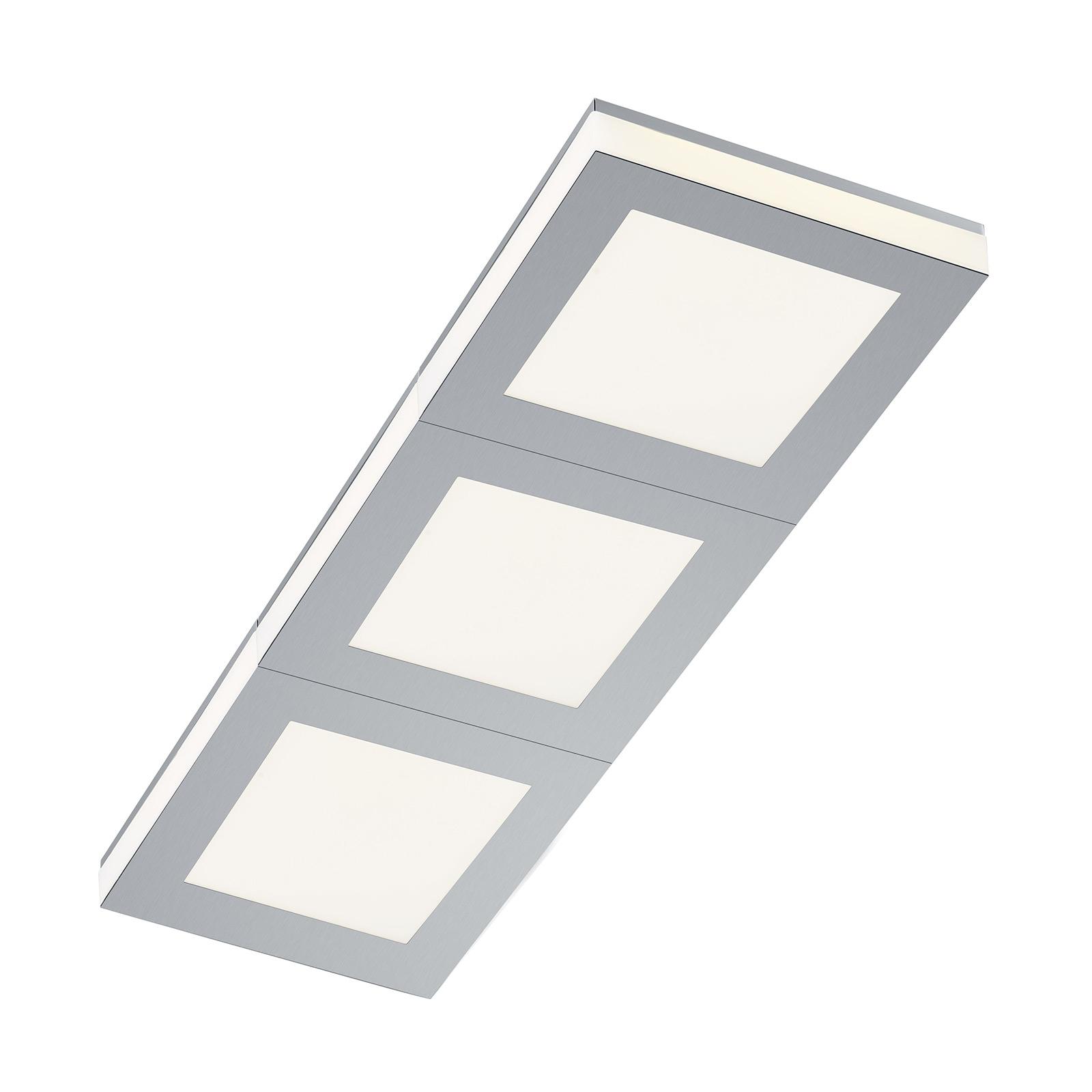 B-Leuchten Quadro LED plafondlamp 65x22 cm