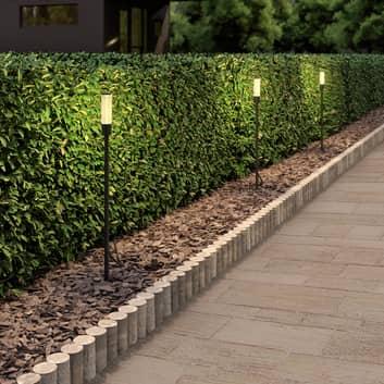 Lindby Laurelin lámpara LED con pica, 3 piezas